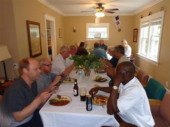 Fr. Peter's Dinner 3