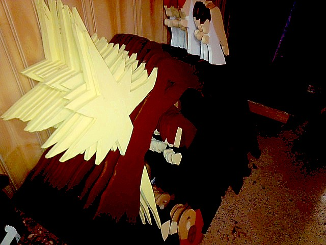 Full-size Nativity Scenes