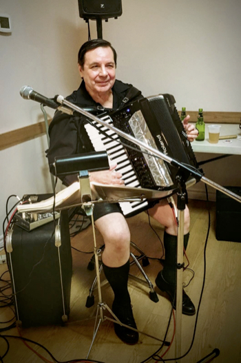 Musician Ron Hiuser has been faithfully entertaining at the Sister's Oktoberfest since its inception 46 years ago. A big thank you Ron!!!
