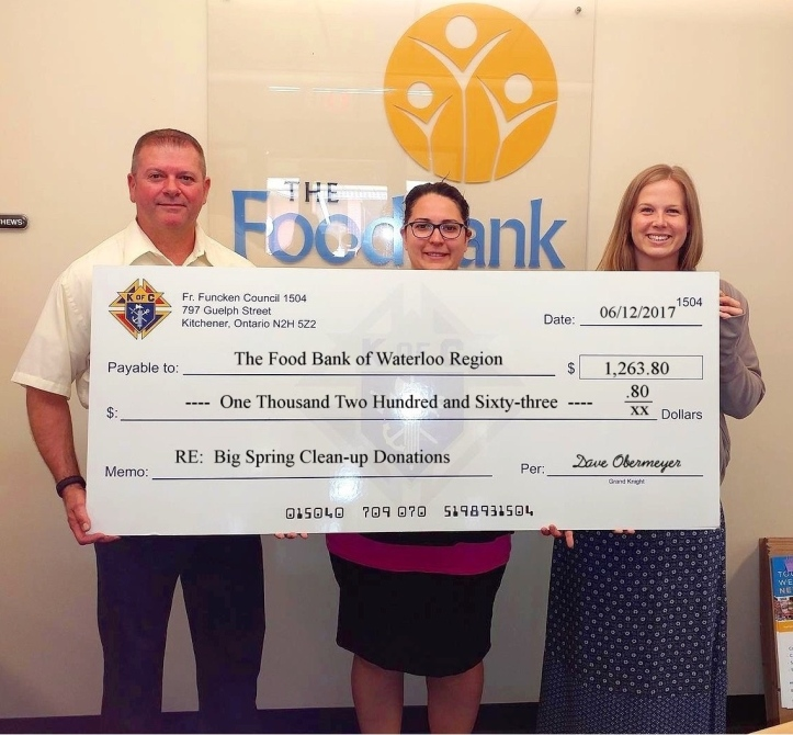 173 Food Bank Cheque