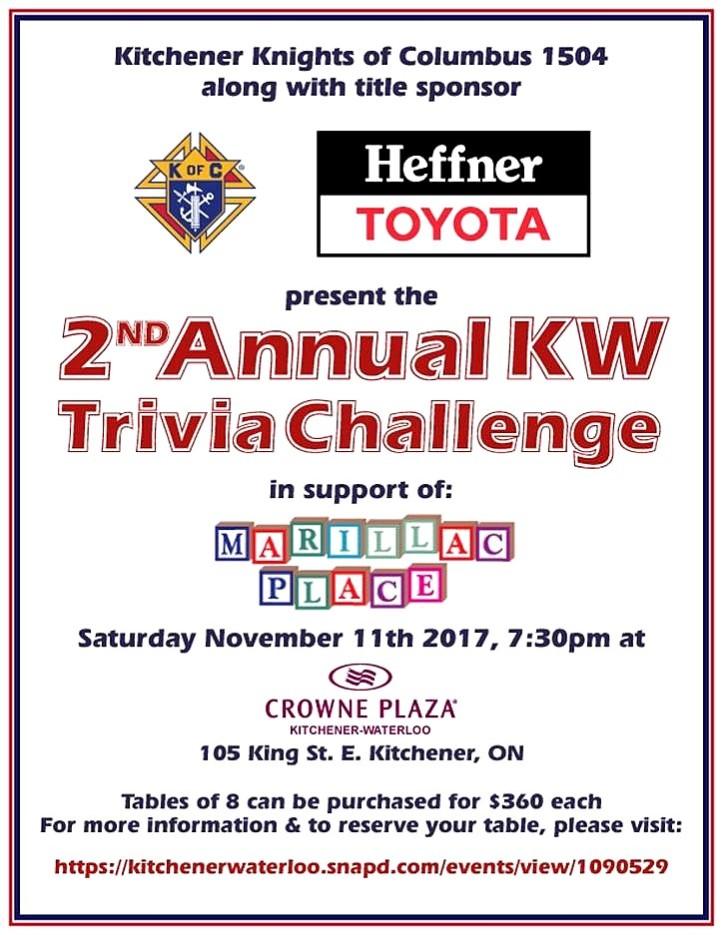 184 2017 Trivia Challenge Poster