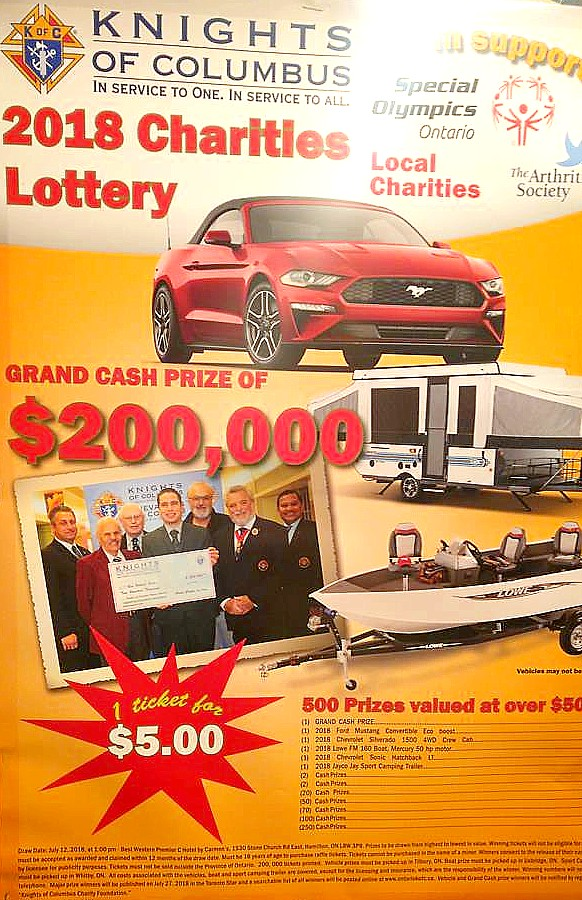 201 2018 Lottery Poster