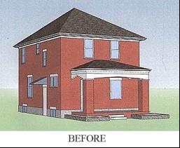 Columbus House 1 Before