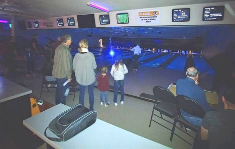 K of C Family Bowling 4